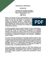 Ética profesional del orientador psicológico, Temas selectos en orientación psicológica, México, Manual Moderno, 2012