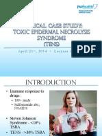 toxic epidermal necrolysis - grguric case study presentation pdf