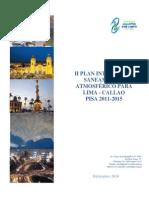 II Plan Integral de Saneamiento Atmosferico Para Lima y Callao PISA 2011 2015