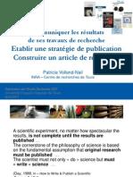 Strategie Communication Ecrite 2011