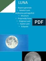 Luna- prezentare