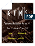 Platinum Palladium Survey 2011 Presentation