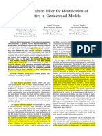 Extended Kalman Filter for Identification of Parameters in Geotechnical Models_1st Review