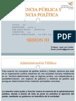 Gerencia Publica Sesion 03