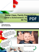 social class vs  family expectations