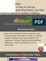 raz-kids workshop