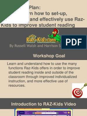 raz kids sign up