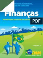 03. Finanças - Procedimentos Para Otimizar a Arrecadação Municipal