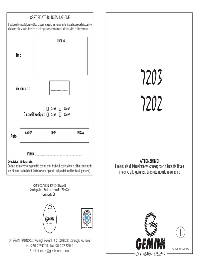 Schemi Elettrici Opel : 7203