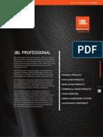 2014 JBL Pro Full Line Catalog