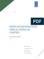 Modelos Matematicos de Los Sistemas de Control Corregido2