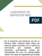 Seguridad de Servicios Web