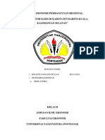 Penentuan Sektor Unggulan di Kabupaten Barito Kuala Provinsi Kalimantan Selatan Berdasarkan Analisis LQ