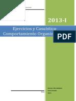 Casuisticas Comportamiento Organizacional.2013 I