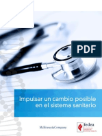 Cambio posible sistema sanitario español