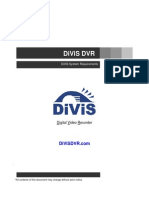 DiViS System Requirements