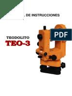 Manual Teo3