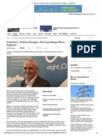 Interview -  Graham Keegan, Chief Operating Officer, Eight2O - Utility Week