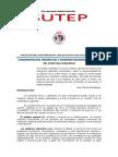 Lineamientos Del Temario 2014