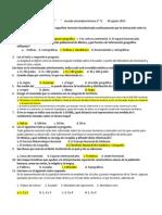 Examen Diagnostico Geografía 1