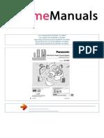User Manual Panasonic Sa Dm3 e