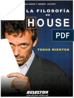 Todos Mienten Filosofia de HOUSE