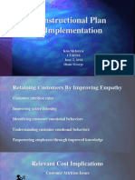 instructional plan implementation completed