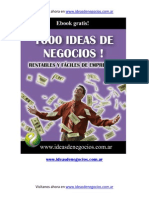 1000 Ideas de Negocios eBook