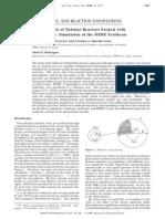 Simulación de La Sintesis de MTBE