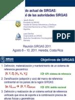 Brunini Sanchez Reporte Anual SIRGAS