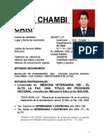 Curriculum Oficial 2011