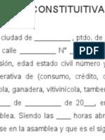 Compilado de Actas y Formatos Legales