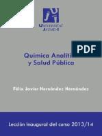 Quimica Analitica y Salud Publica
