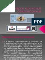 Organismos Autonomos Constitucionales [Recuperado]