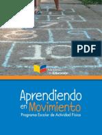 Programa Escolar de Actividad Física. Aprendiendo_en_movimiento