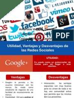 Utilidad, Ventajas y Desventajas de Las Redes (1)