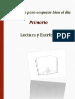 Lectura y Escritura Prim