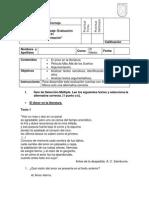 2. Certamen de Lenguaje y Comunicacion III Medio