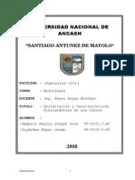 Informe de Hidrologia Cuenca Llanganuco