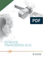 EADS Estados Financieros 2012