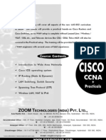 Cisco CCNA Training Will Cover All Aspects of the New