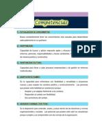 Diccionario de Competencias 2