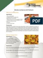 Calvariorecetas PDF