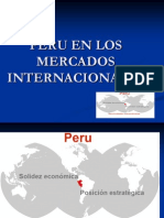 Peru en El Mercado Internacional