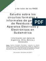 Informe Raee Sudamerica
