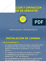 Instalacion y Operación-Winche de Arrastre