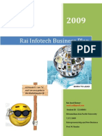Rai Infotech Marketing and Business Plan .