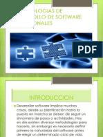 Metodologias de Desarrollo de Software Tradicionales