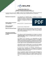 MILPOC1_120329 Aviso Oferta Compra y Orden de Venta Milpo - Acciones Inversion