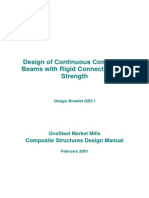 Manual of Design of Continuous Composite Beams